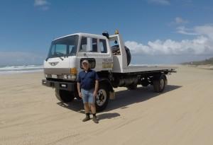Fraser Island Tow Truck